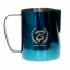 Barista Space - 600 ml milk pitcher Blue/Rainbow