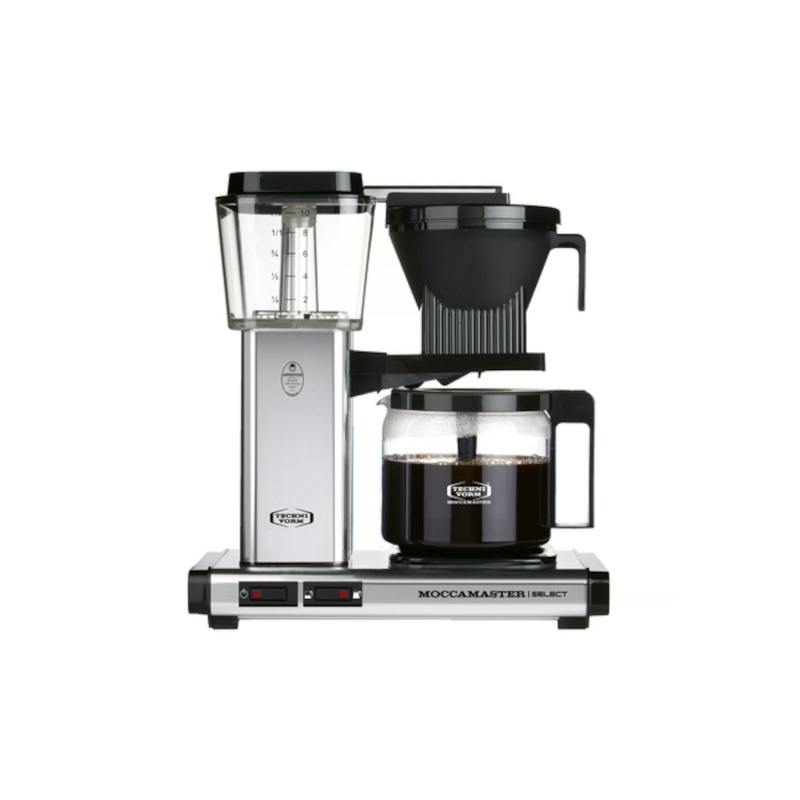 Moccamaster KBG 741 Select - Silver - Filter coffee machine