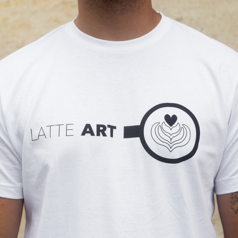 Latte Art - men's t-shirt - Size: XL